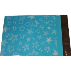 250 x 350, 10 kpl tähti postituspussi