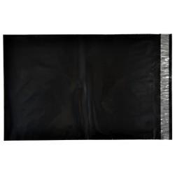 250 x 350, 50 kpl musta postituspussi