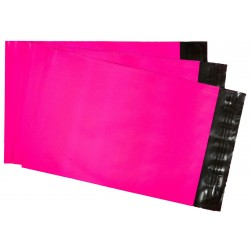 300 x 410, 25 kpl pinkki postituspussi