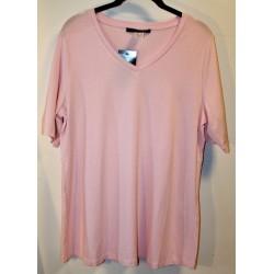 Sara Lindholm vaaleanpunainen t-paita