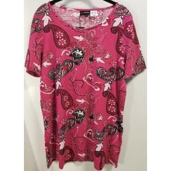 Mia Moda pinkki t-paita
