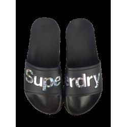 Superdry mustat sandaalit